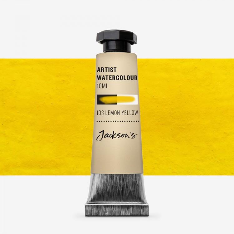 Jackson's : Artist Watercolour Paint : 10ml : Lemon Yellow