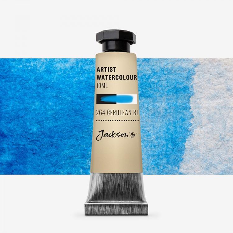 Jackson's : Artist Watercolour Paint : 10ml : Cerulean Blue