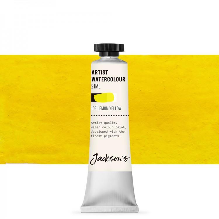Jackson's : Artist Watercolour Paint : 21ml : Lemon Yellow