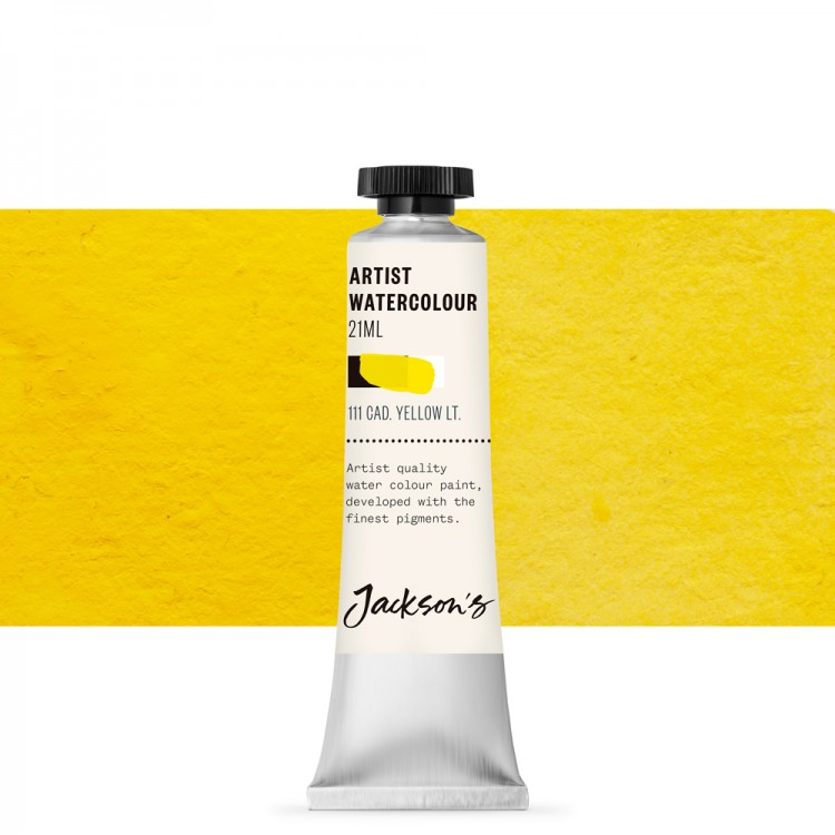 Jackson's : Artist Watercolour Paint : 21ml : Cadmium Yellow Light