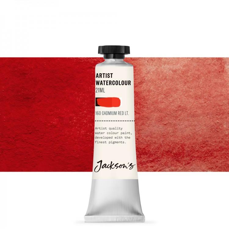 Jackson's : Artist Watercolour Paint : 21ml : Cadmium Red Light