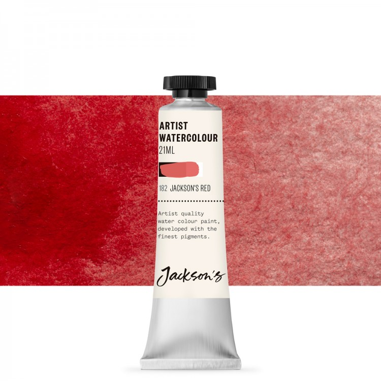 Jackson's : Artist Watercolour Paint : 21ml : Jackson's Pyrrole Red