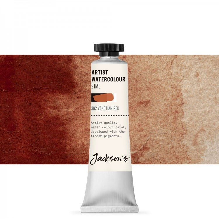 Jackson's : Artist Watercolour Paint : 21ml : Venetian Red