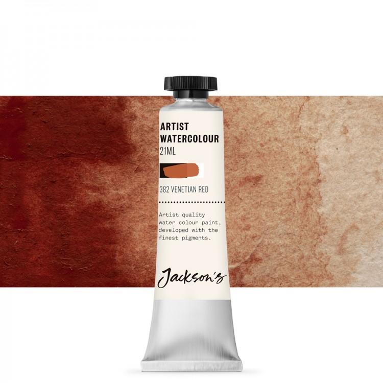 Jackson's : Artist Watercolour Paint : 21ml : Venetian Red