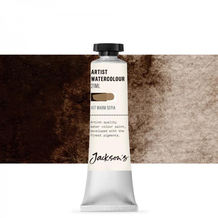 Jackson's : Artist Watercolour Paint : 21ml : Warm Sepia