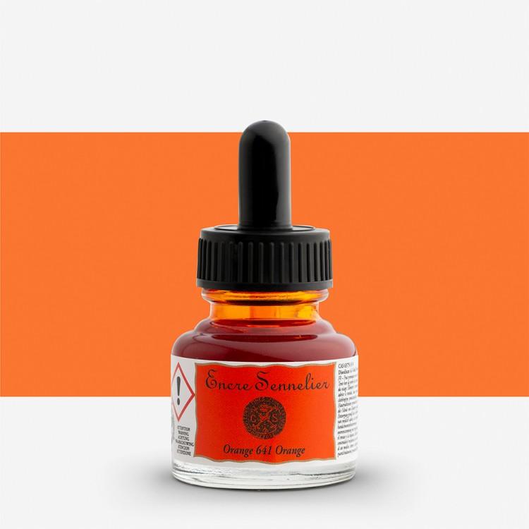 Sennelier : Ink : 30ml : Orange