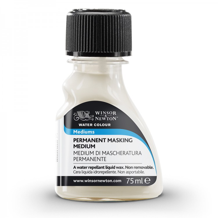 Winsor & Newton : Watercolour Medium : 75ml : Permanent Masking Medium