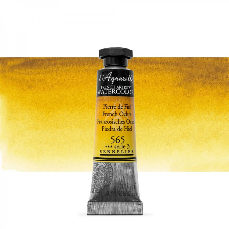 Sennelier : Watercolour Paint : 10ml : French Ochre