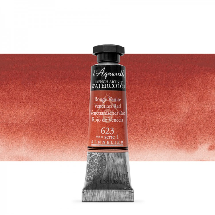 Sennelier : Watercolour Paint : 10ml : Venetian Red