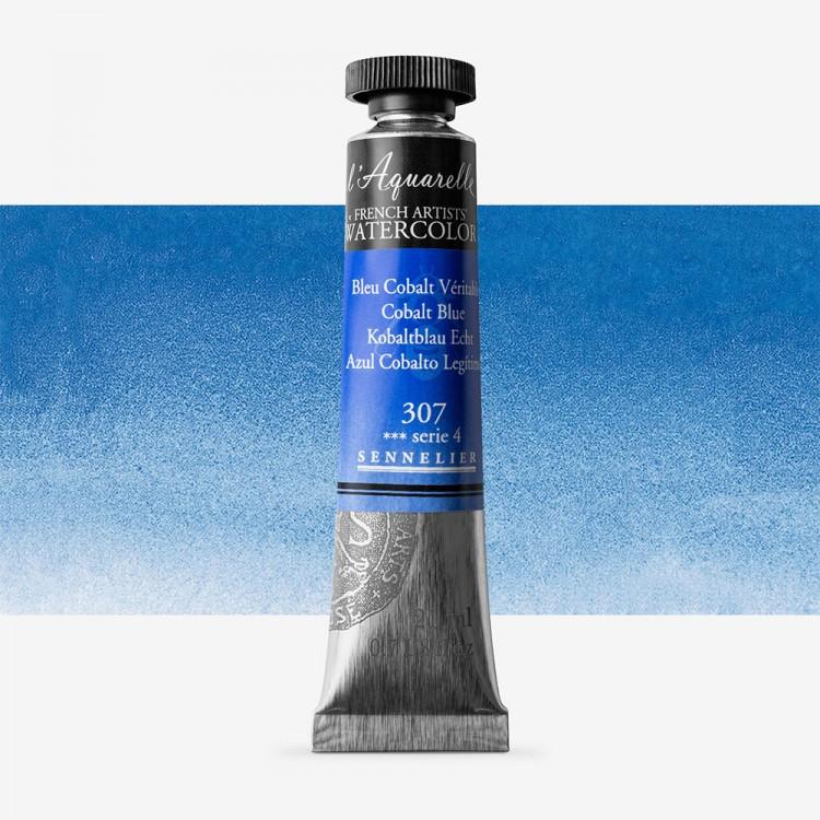 Sennelier : Watercolour Paint : 21ml : Cobalt Blue