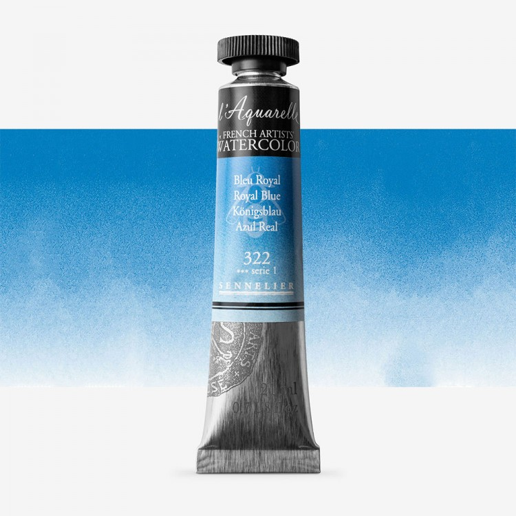 Sennelier : Watercolour Paint : 21ml : Royal Blue
