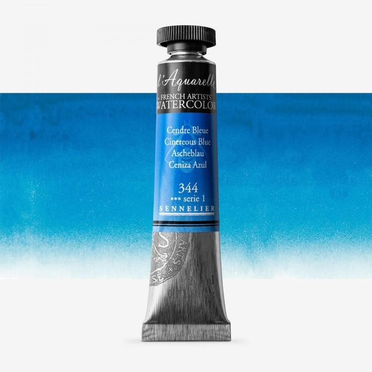 Sennelier : Watercolour Paint : 21ml : Cinereous Blue