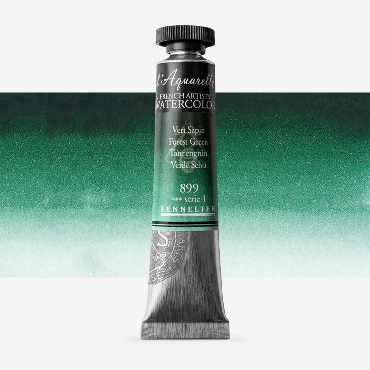 Sennelier : Watercolour Paint : 21ml : Forest Green