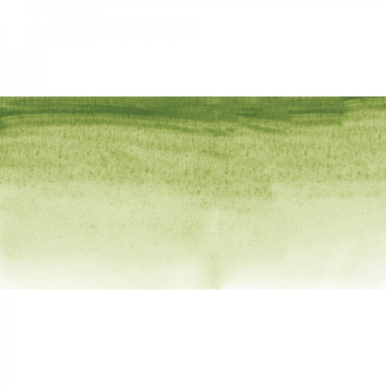 Sennelier : Watercolour Paint : Half Pan : Green Earth