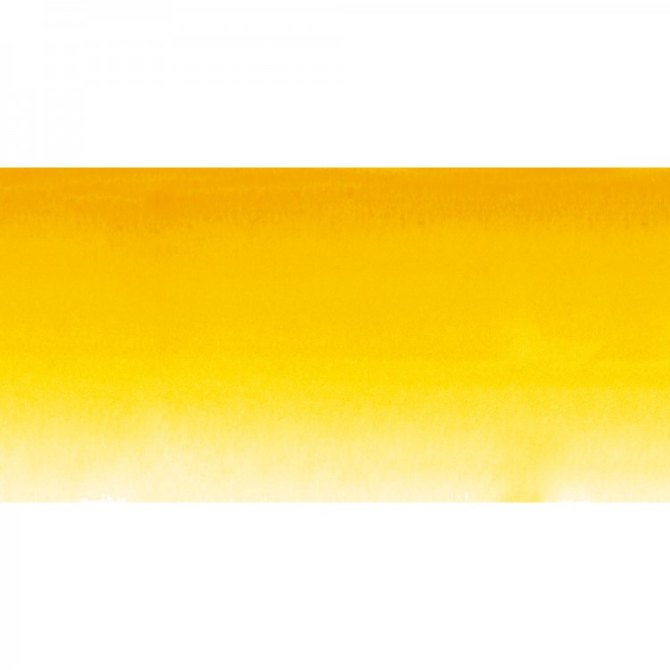 Sennelier : Watercolour Paint : Half Pan : Sennelier Yellow Deep