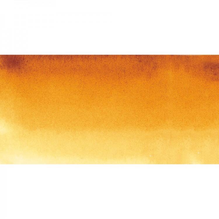 Sennelier : Watercolour Paint : Half Pan : Quinacridone Gold