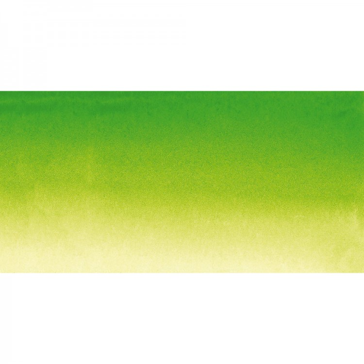 Sennelier : Watercolour Paint : Half Pan : Phthalo. Green Light