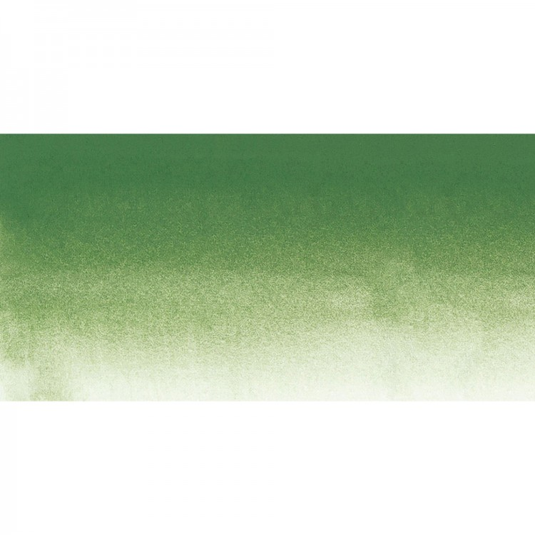 Sennelier : Watercolour Paint : Half Pan : Chromium Oxide Green