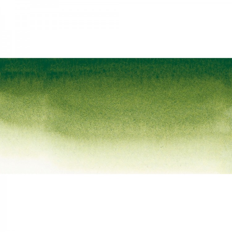 Sennelier : Watercolour Paint : Half Pan : Sap Green