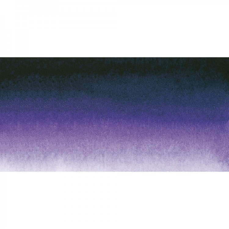 Sennelier : Watercolour Paint : Half Pan : Dioxazine Purple