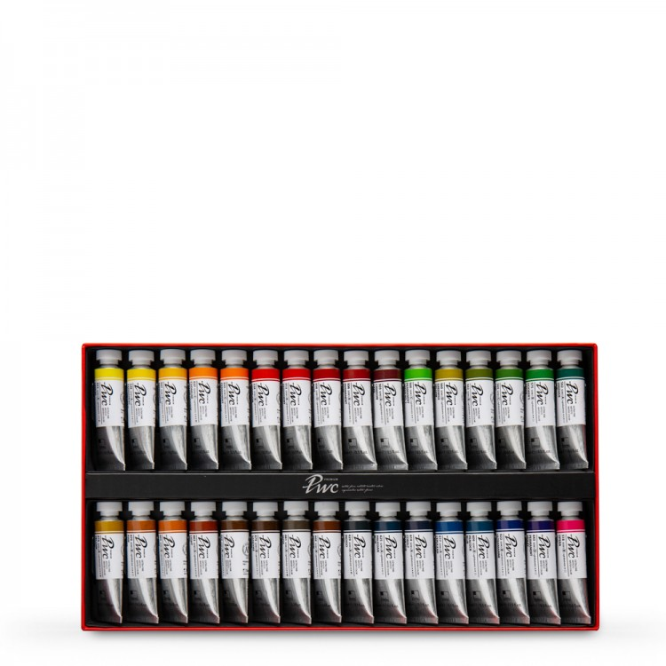 ShinHan : Premium Extra Fine Watercolour Paint : 15ml : 32 Tube Set