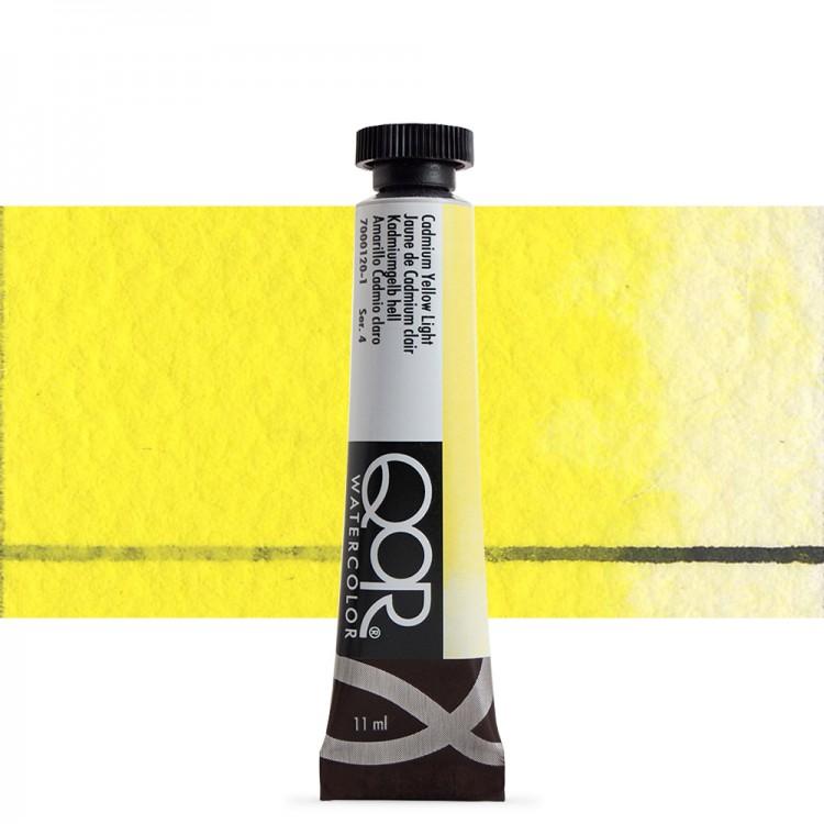 Golden QoR : Watercolour Paint : 11ml : Cadmium Yellow Light