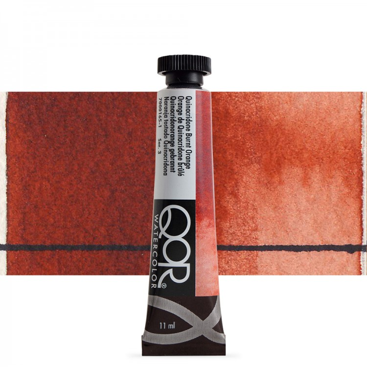 Golden QoR : Watercolour Paint : 11ml : Quinacridone Burnt Orange