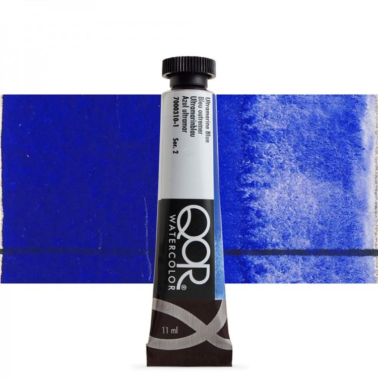 Golden QoR : Watercolour Paint : 11ml : Ultramarine Blue