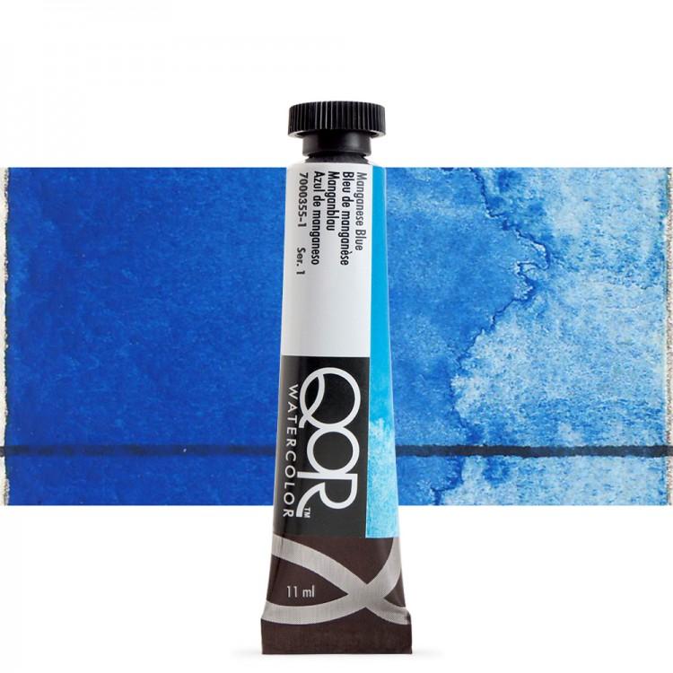 Golden QoR : Watercolour Paint : 11ml : Manganese Blue