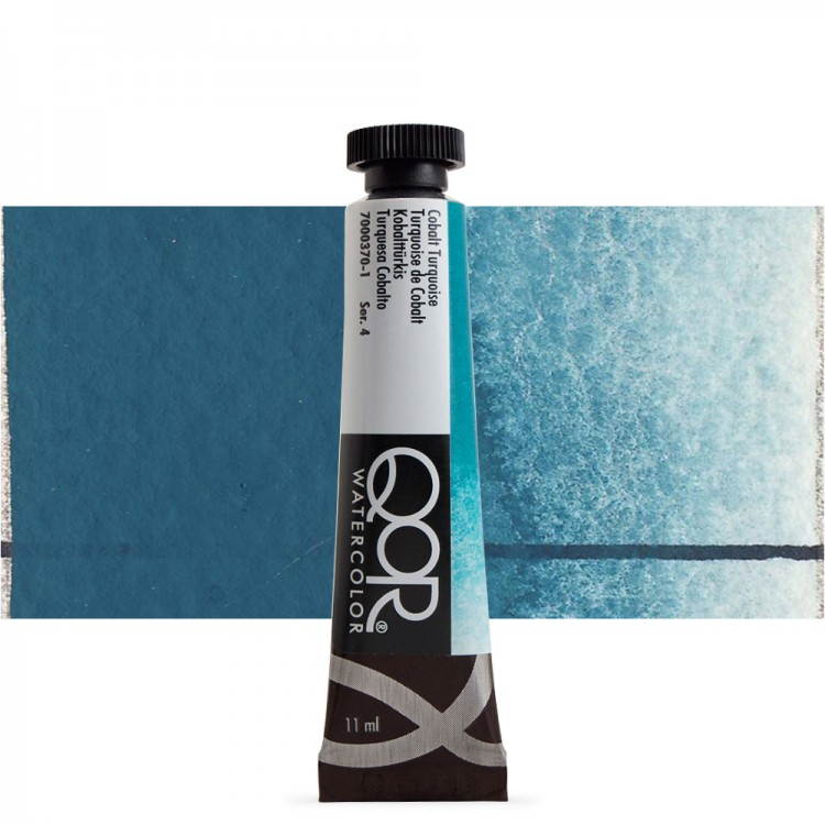 Golden QoR : Watercolour Paint : 11ml : Cobalt Turquoise