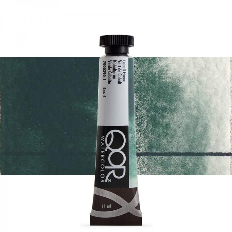 Golden QoR : Watercolour Paint : 11ml : Cobalt Green