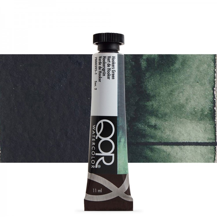 Golden QoR : Watercolour Paint : 11ml : Hookers Green