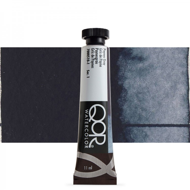 Golden QoR : Watercolour Paint : 11ml : Paynes Gray