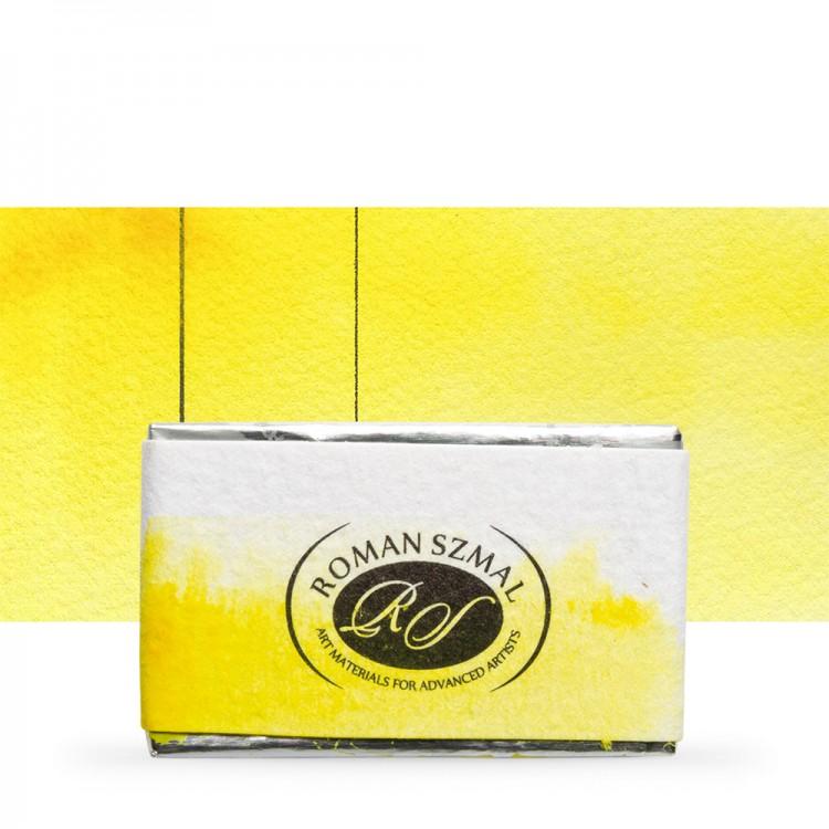 Roman Szmal : Aquarius : Watercolour Paint : Full Pan : Aquarius Yellow