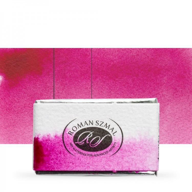 Roman Szmal : Aquarius : Watercolour Paint : Full Pan : Quinacridone Pink