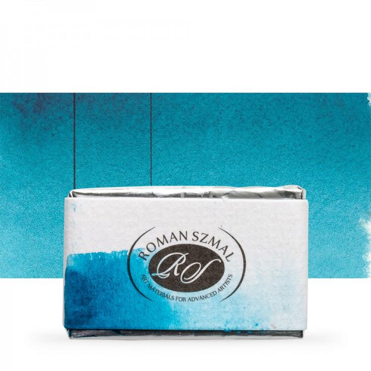 Roman Szmal : Aquarius : Watercolour Paint : Full Pan : Phthalo Turquoise