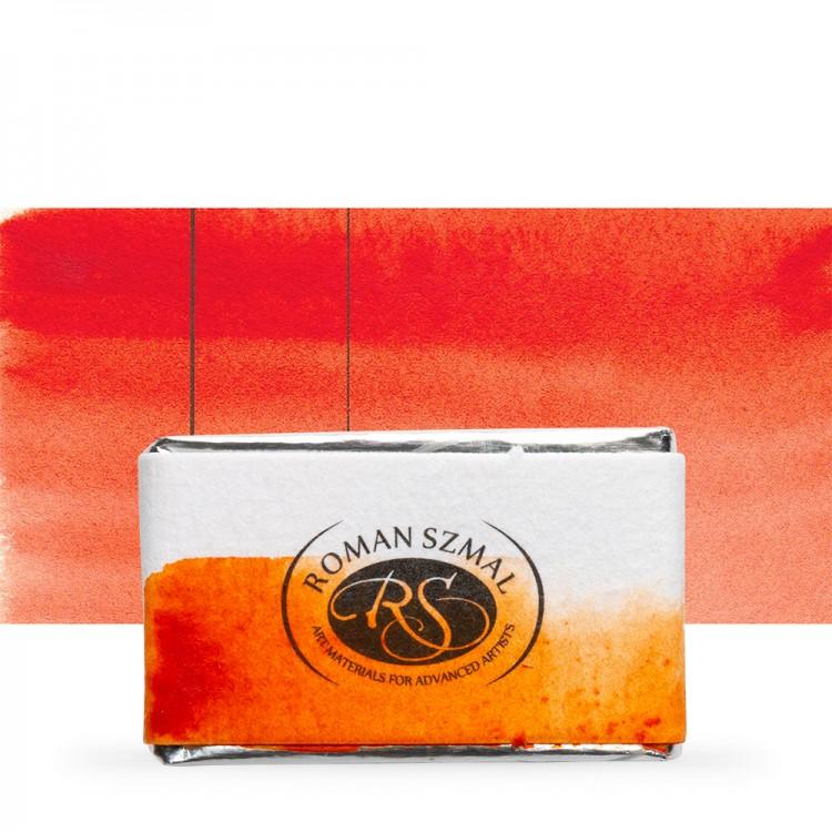 Roman Szmal : Aquarius : Watercolour Paint : Full Pan : Aquarius Orange