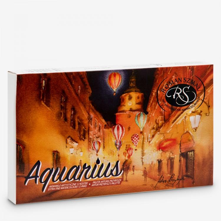 Roman Szmal : Aquarius : Watercolour Paint : Full Pan : Artur Przybysz's  Palette Set of 12 - Watercolour Sets - Watercolour Gifts - Gifts    Jackson's Art Supplies