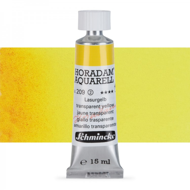 Schmincke : Horadam Watercolour Paint : 15ml : Translucent Yellow