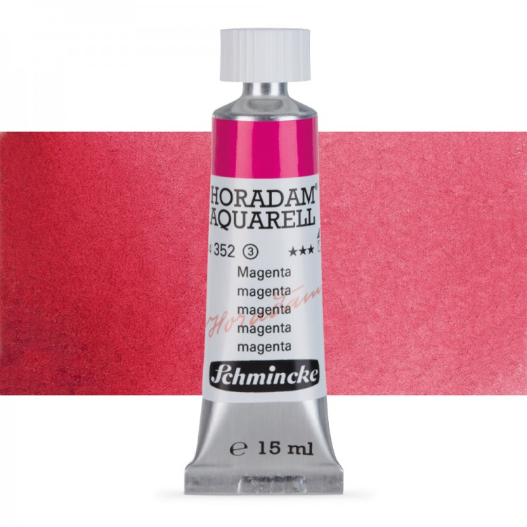 Schmincke : Horadam Watercolour Paint : 15ml : Magenta