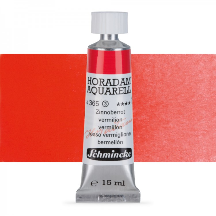 Schmincke : Horadam Watercolour Paint : 15ml : Vermillion