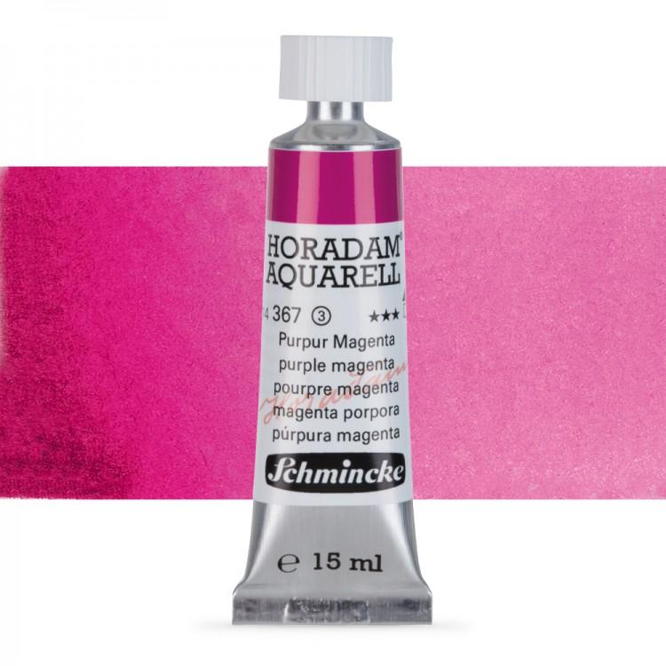 Schmincke : Horadam Watercolour Paint : 15ml : Purple Magenta