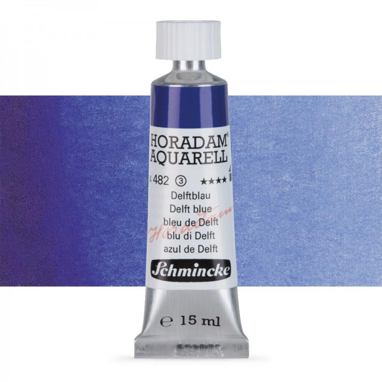 Schmincke : Horadam Watercolour Paint : 15ml : Delft Blue