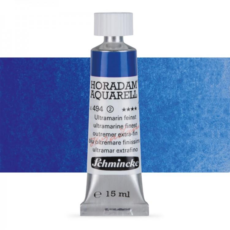Schmincke : Horadam Watercolour Paint : 15ml : Ultramarine Finest