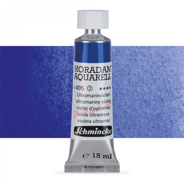 Schmincke : Horadam Watercolour Paint : 15ml : Ultramarine Violet