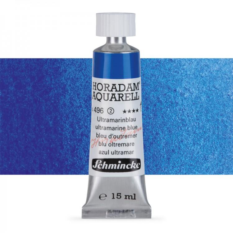 Schmincke : Horadam Watercolour Paint : 15ml : Ultramarine Blue