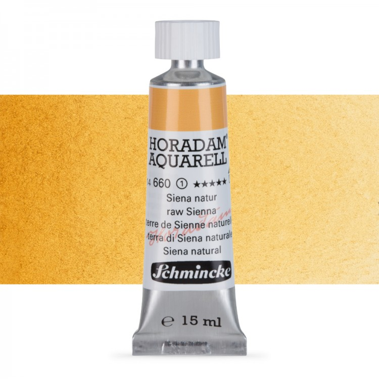 Schmincke : Horadam Watercolour Paint : 15ml : Raw Sienna