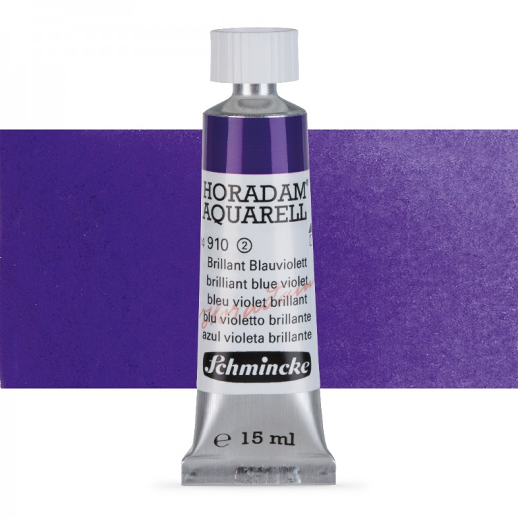 Schmincke : Horadam Watercolour Paint : 15ml : Brilliant Blue Violet