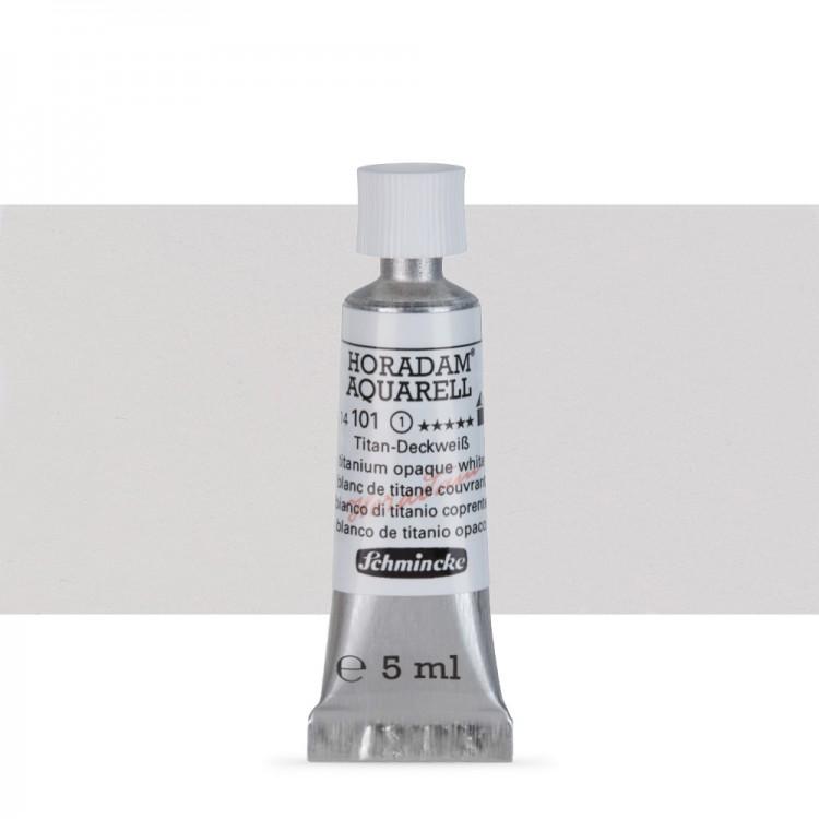 Schmincke : Horadam Watercolour Paint : 5ml : Titanium Opaque White