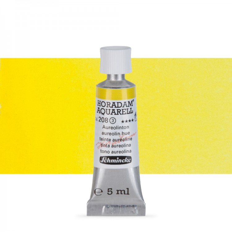 Schmincke : Horadam Watercolour : 5ml : Aureolin Hue (Aureolin Modern)